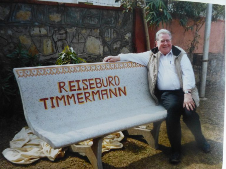 Karl-Friedrich Timmermann in Indien